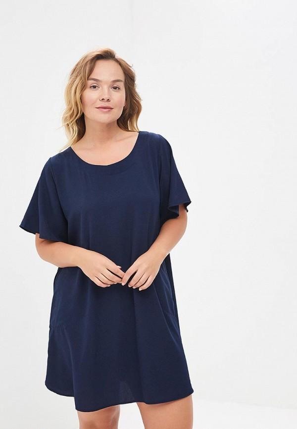 Фото - Платье Sparada синего цвета