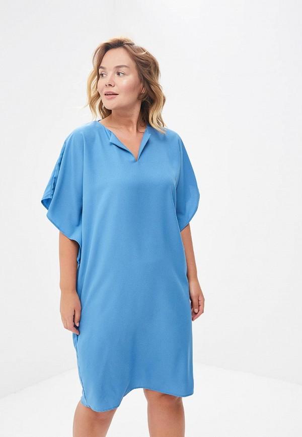 Купить Платье Sparada, sp028ewbpbk6, голубой, Весна-лето 2018