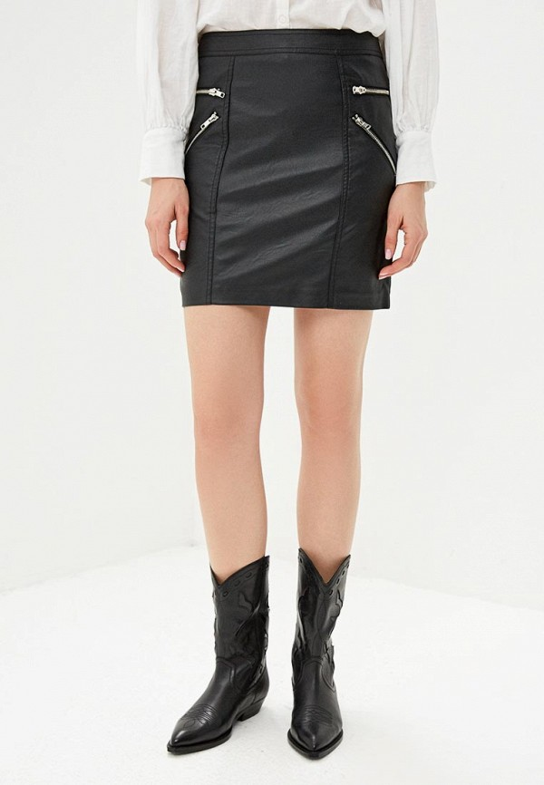женская юбка sparkz copenhagen, черная