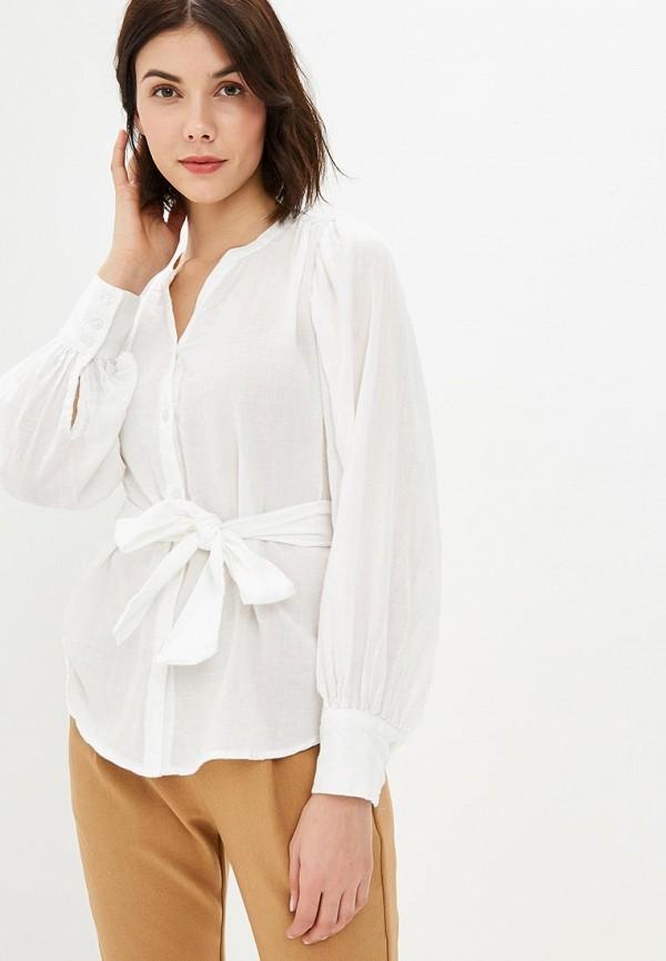 женская блузка sparkz copenhagen, белая