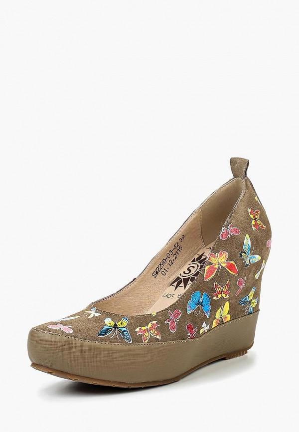 женские туфли spur, разноцветные