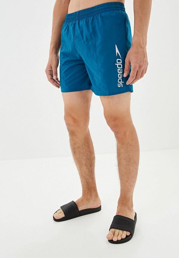 мужские спортивные спортивные шорты speedo, голубые