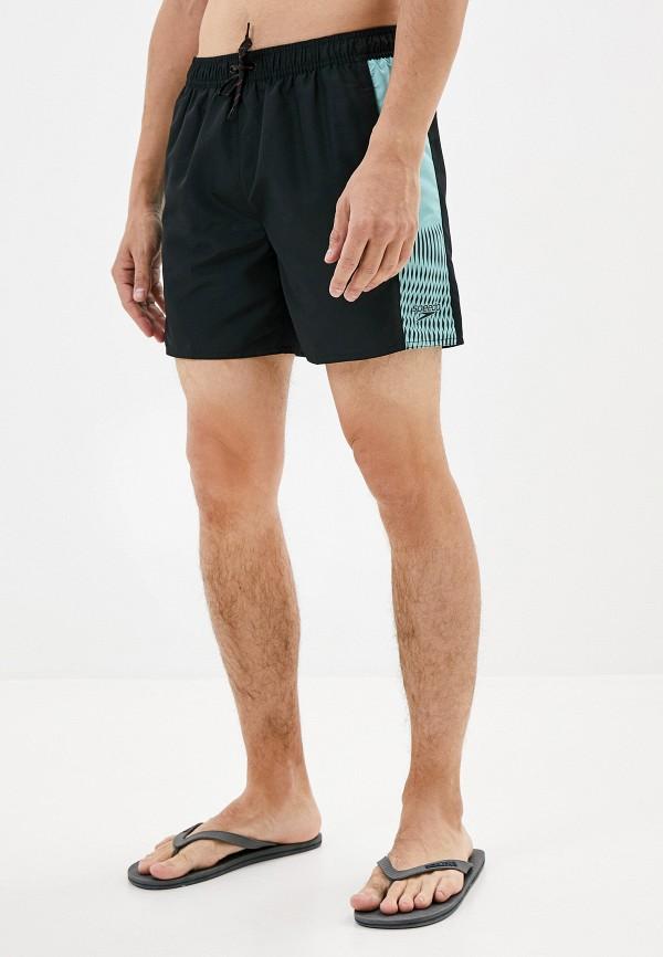 мужские спортивные спортивные шорты speedo, синие