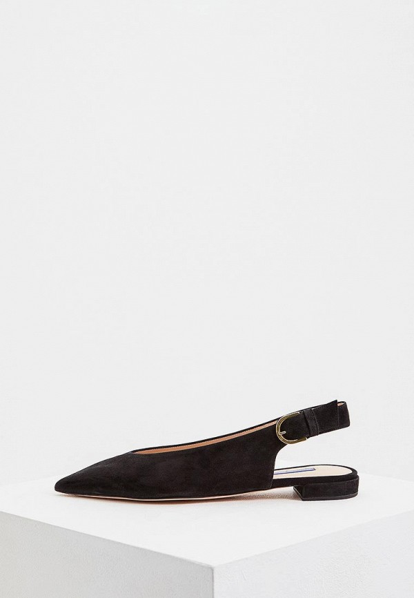 Фото - женские туфли Stuart Weitzman черного цвета