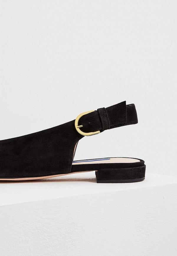 Фото 4 - женские туфли Stuart Weitzman черного цвета