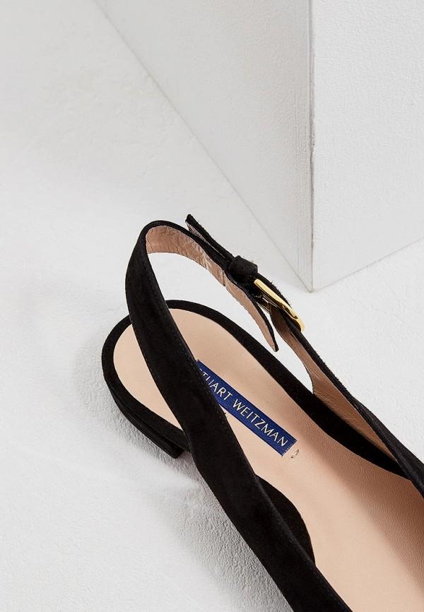 Фото 5 - женские туфли Stuart Weitzman черного цвета