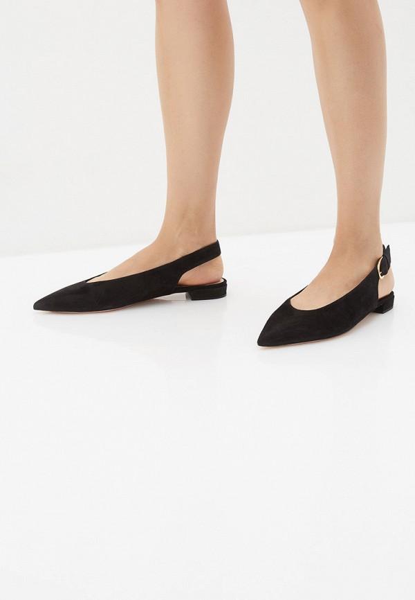 Фото 6 - женские туфли Stuart Weitzman черного цвета