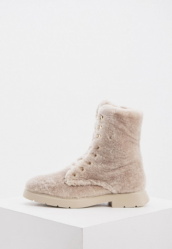 женские ботинки stuart weitzman, бежевые