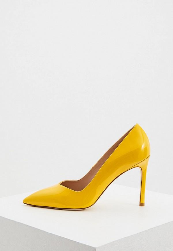 женские туфли stuart weitzman, желтые