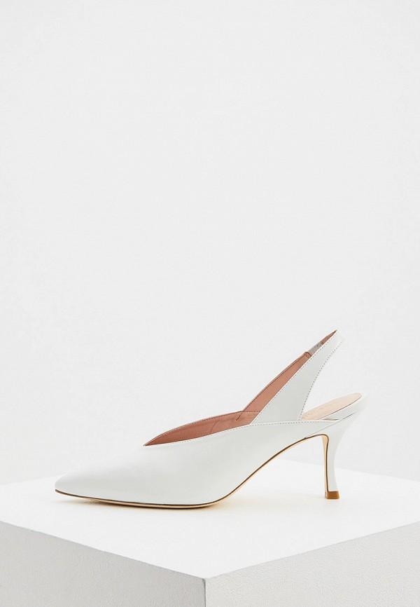 женские туфли stuart weitzman, белые