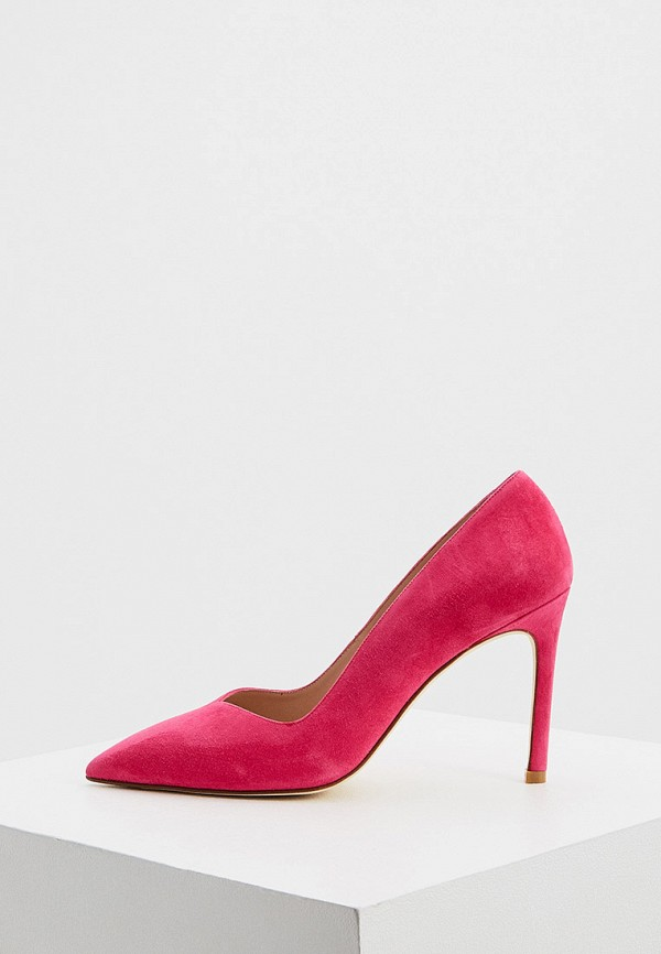 женские туфли stuart weitzman, розовые