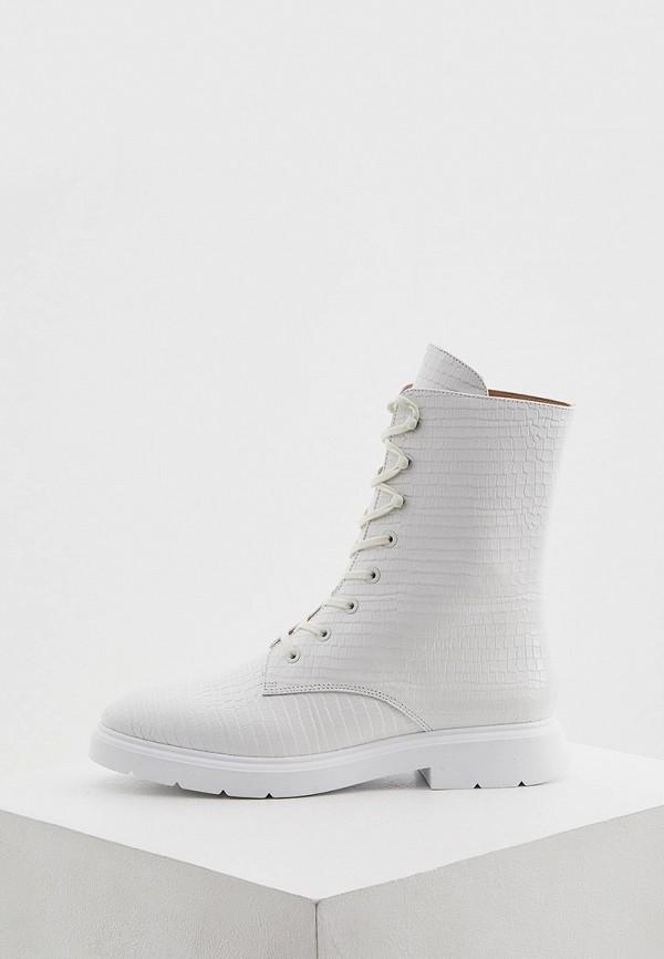 женские ботинки stuart weitzman, белые