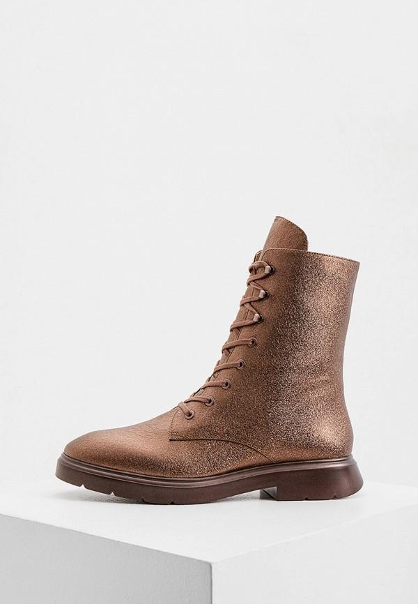 женские ботинки stuart weitzman, коричневые