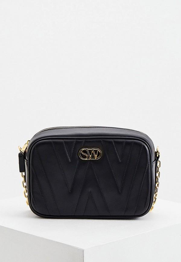 женская сумка stuart weitzman, черная