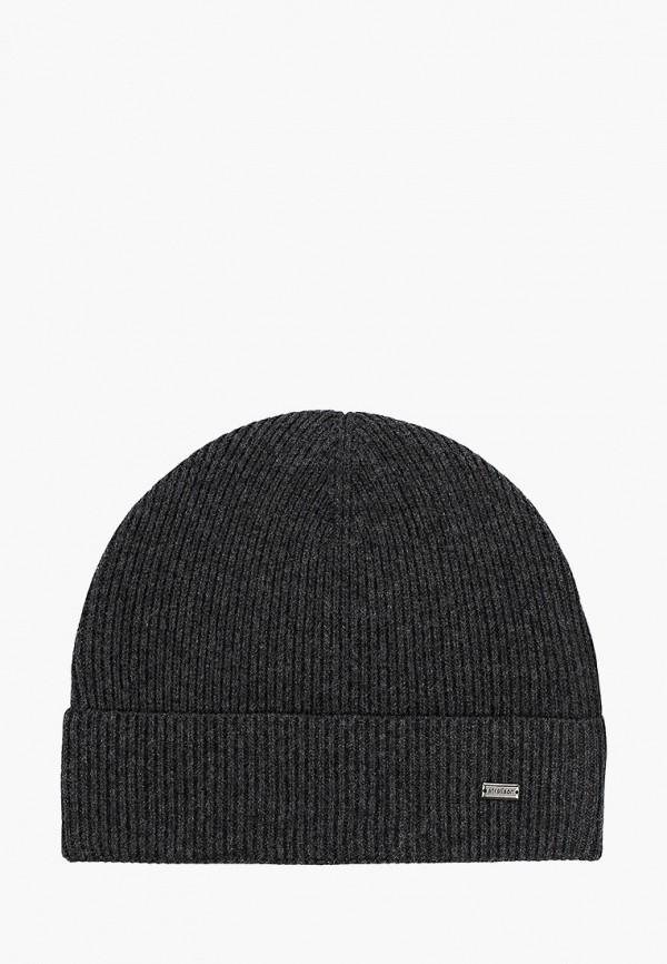 мужская шапка strellson, серая