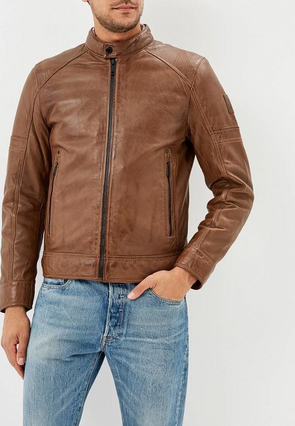 Куртка кожаная Strellson Strellson ST004EMBUQS5 водолазка strellson разноцветный