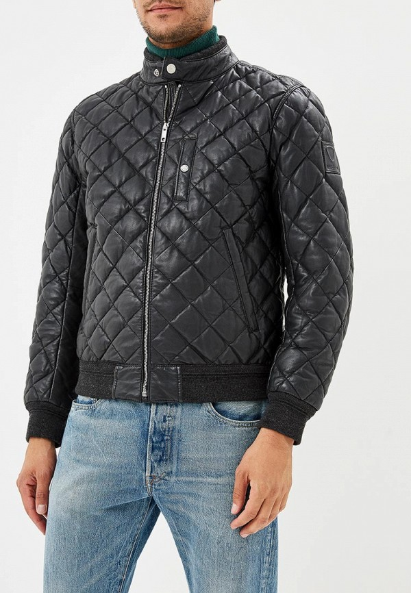 Куртка кожаная Strellson Strellson ST004EMBUQS8 водолазка strellson разноцветный