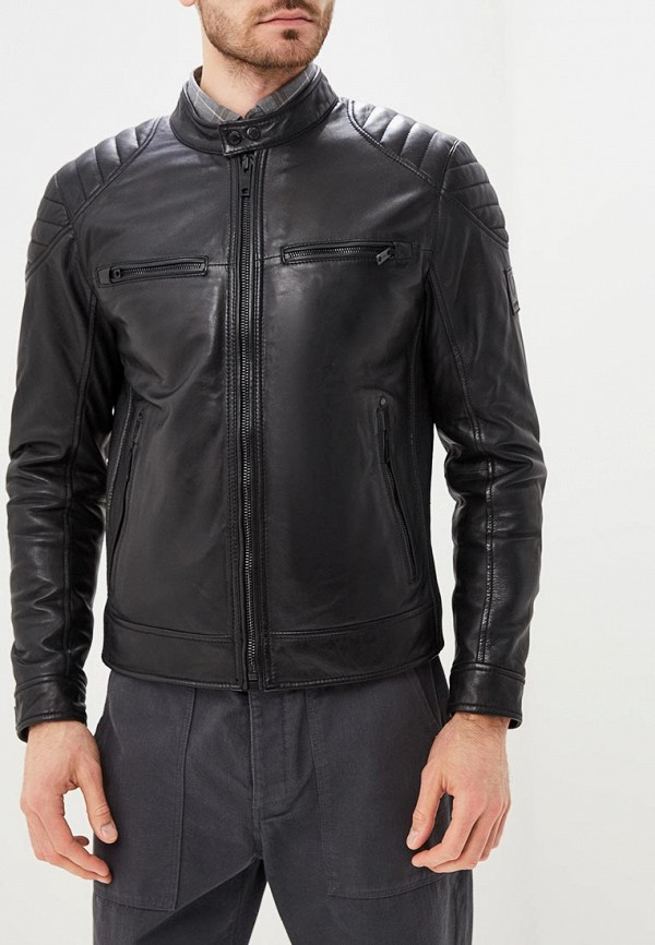 Купить Куртка кожаная Strellson, st004embuqs9, черный, Осень-зима 2018/2019