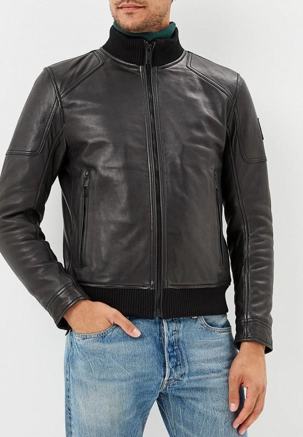 Куртка кожаная Strellson Strellson ST004EMCNJG1 куртка утепленная strellson strellson st004emwdw33