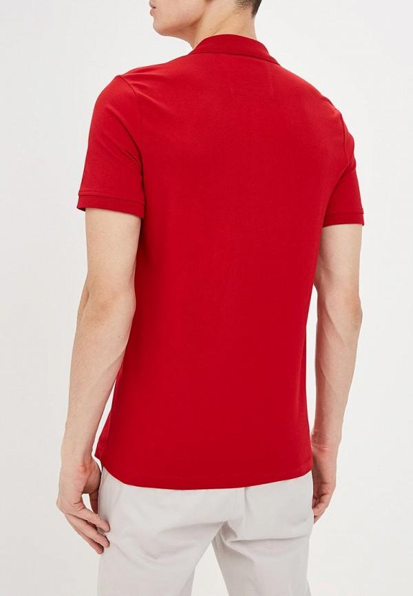 Фото 3 - мужское поло Strellson красного цвета