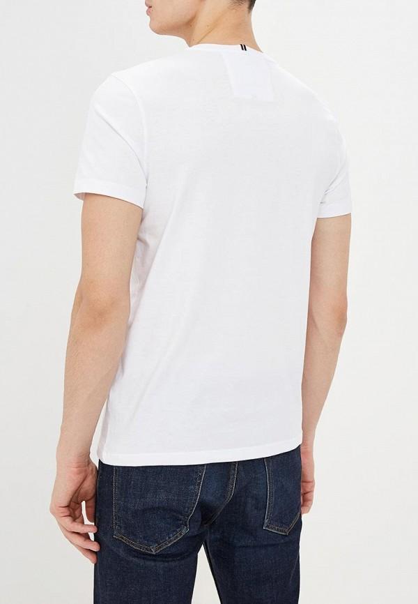 Фото 3 - мужскую футболку Strellson белого цвета