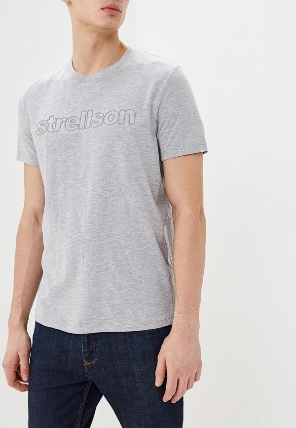 Футболка Strellson Strellson ST004EMDVLE5 шорты strellson strellson st004emrpu40