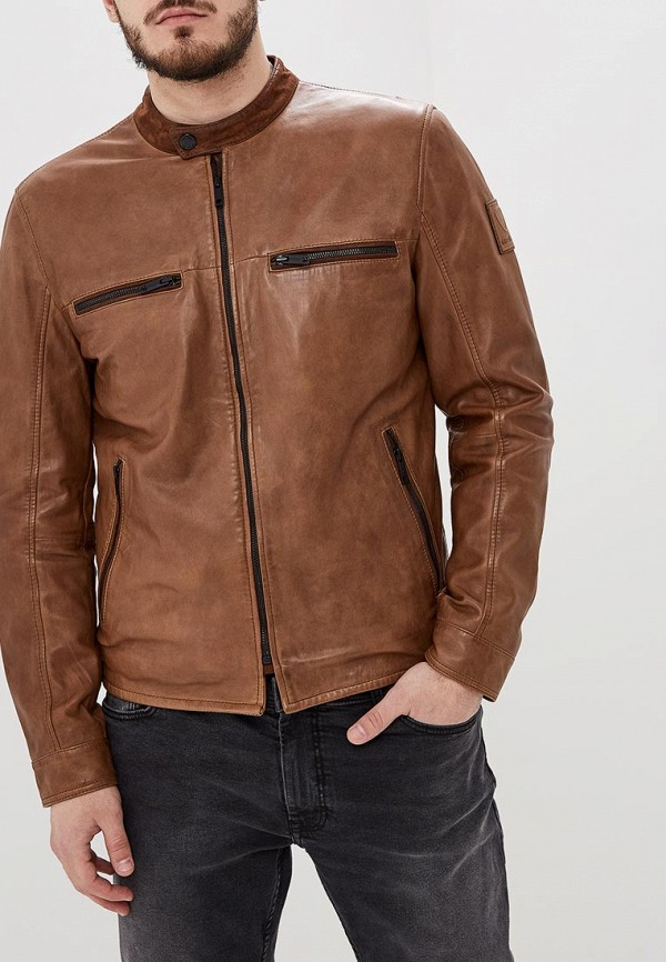 Куртка кожаная Strellson Strellson ST004EMEJWU3 шорты strellson strellson st004emrpu40