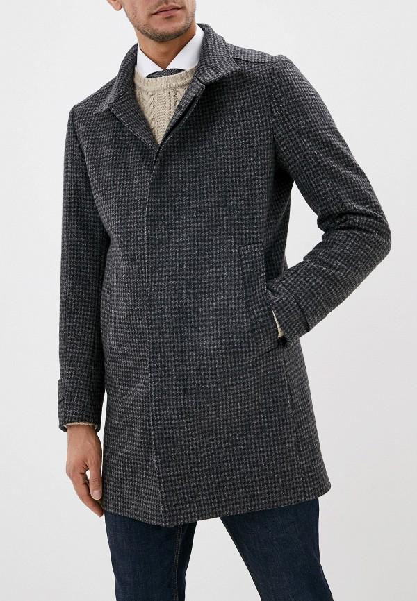 мужское пальто strellson, серое
