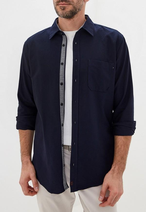 мужская рубашка strellson, синяя