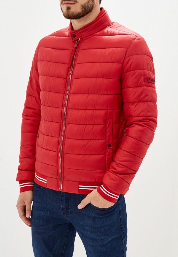 Фото - Куртку утепленная Strellson красного цвета