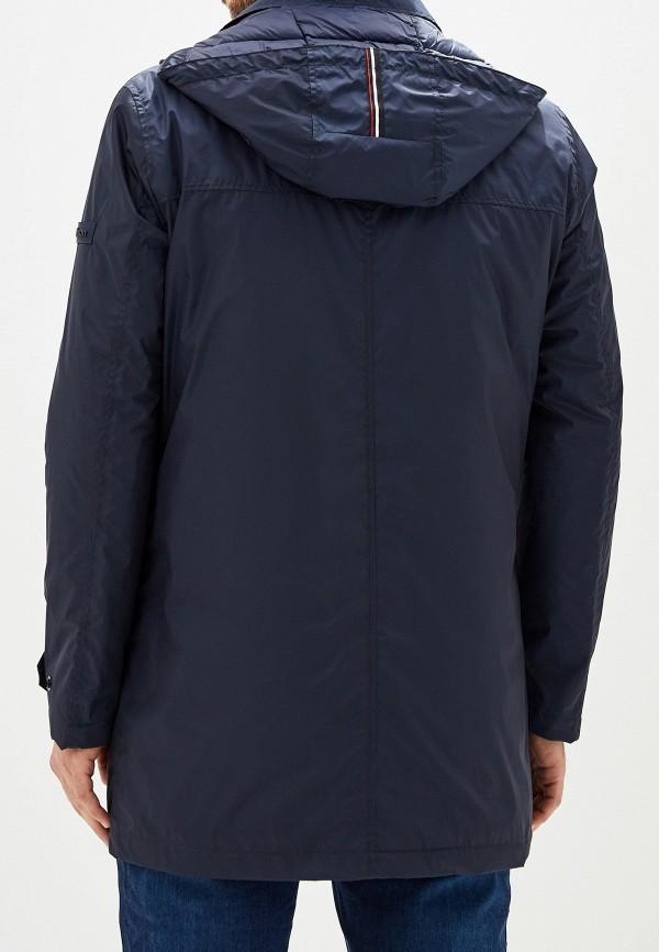 Фото 3 - Куртку утепленная Strellson синего цвета