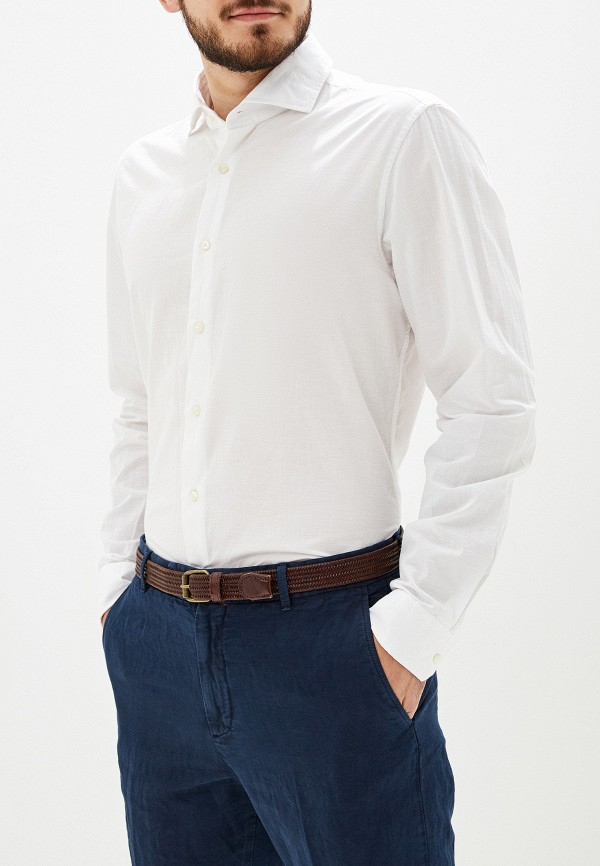 мужская рубашка с длинным рукавом strellson, белая