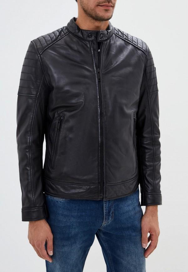 купить Куртка кожаная Strellson Strellson ST004EMGHJI1 дешево