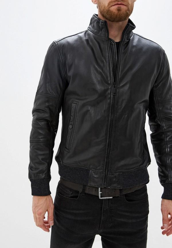 купить Куртка кожаная Strellson Strellson ST004EMGHJI3 дешево