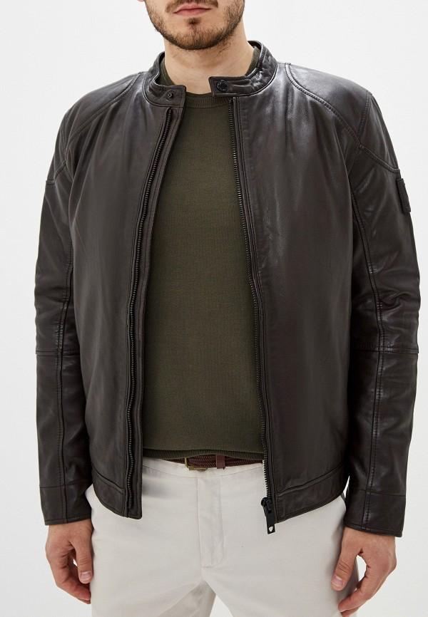 Куртка кожаная Strellson Strellson ST004EMGHJI8
