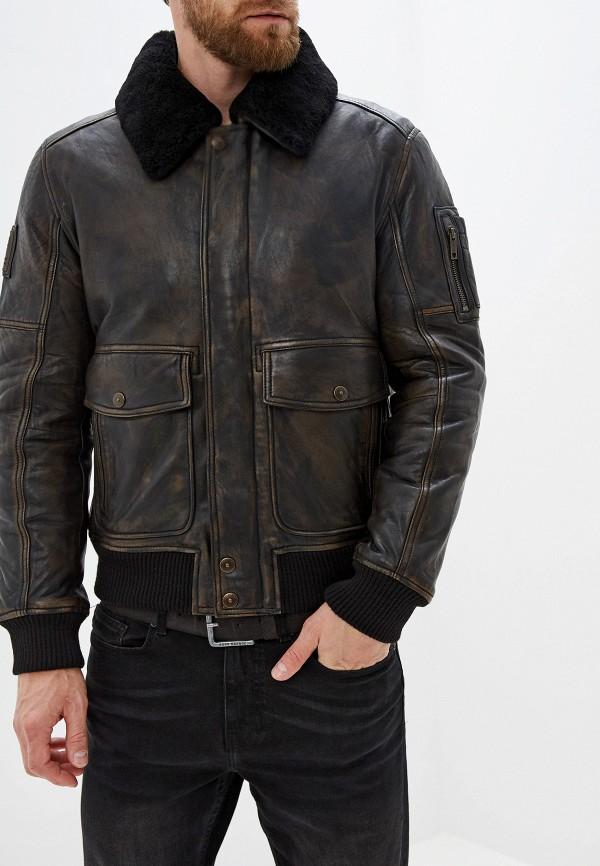 Куртка кожаная Strellson Strellson ST004EMGHJJ1 цена и фото
