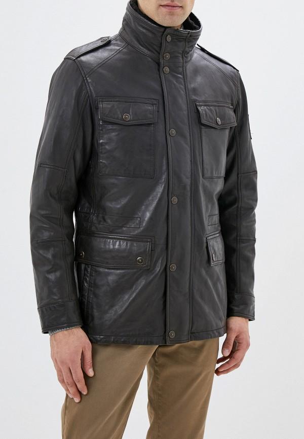 Куртка кожаная Strellson Strellson ST004EMGHJJ4 цена и фото