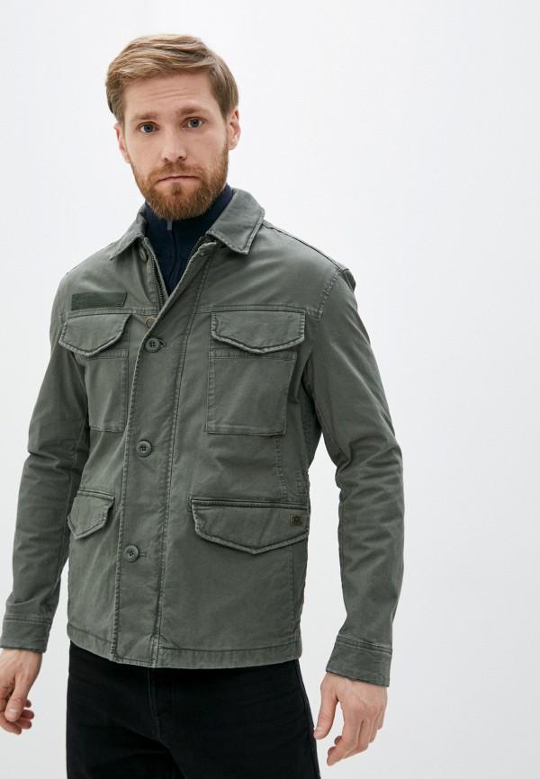 мужская куртка strellson, хаки
