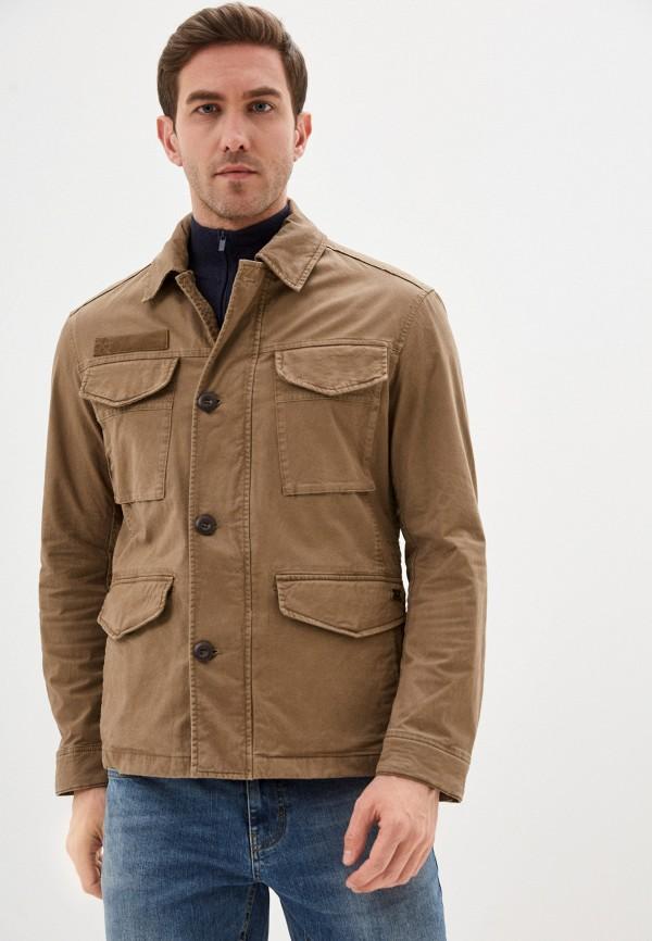 мужская куртка strellson, бежевая