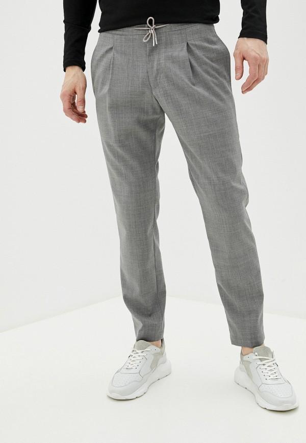 мужские повседневные брюки strellson, серые