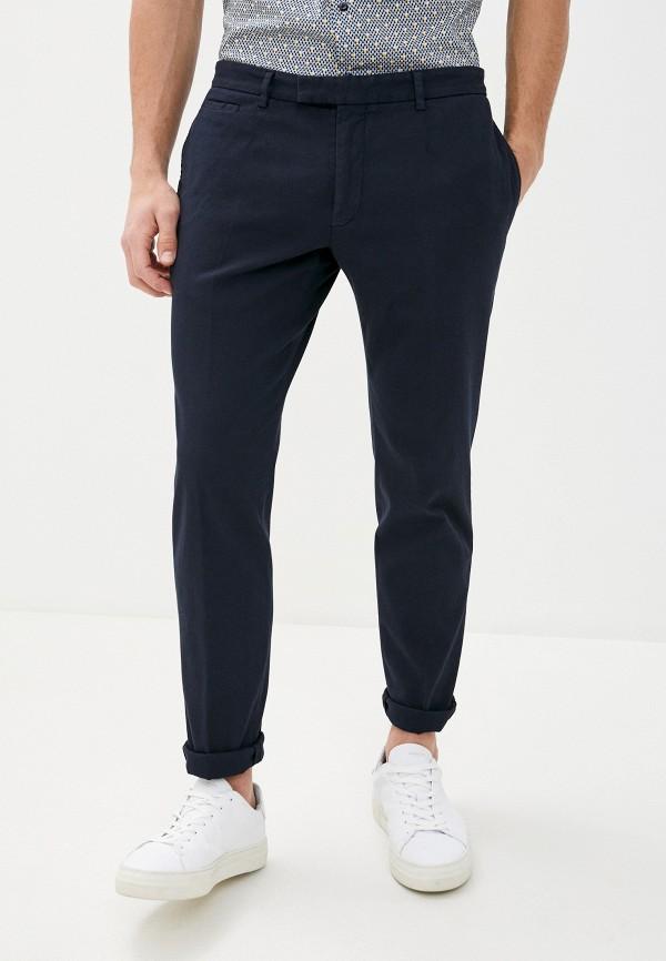 мужские повседневные брюки strellson, синие