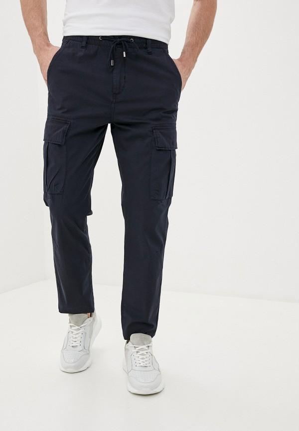 мужские брюки карго strellson, синие