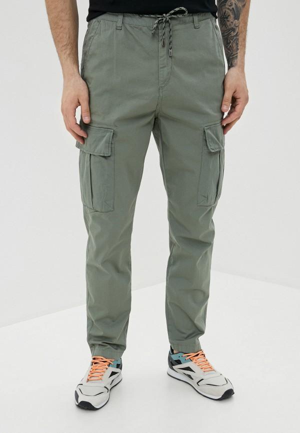 мужские брюки карго strellson, серые