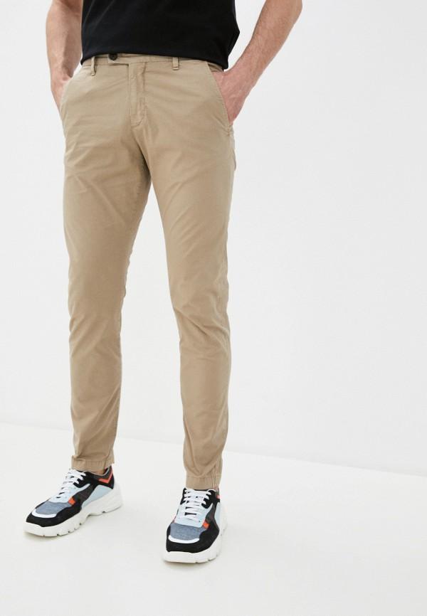 мужские брюки чинос strellson, бежевые