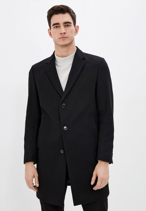 мужское пальто strellson, черное