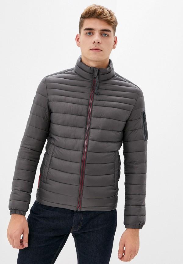 мужская куртка strellson, серая