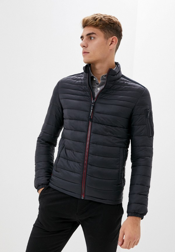 мужская куртка strellson, синяя