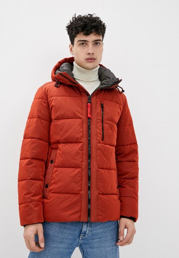 мужская куртка strellson, оранжевая