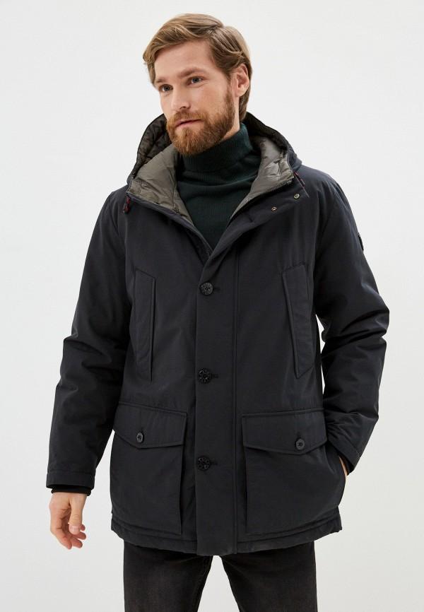 мужская куртка strellson, черная