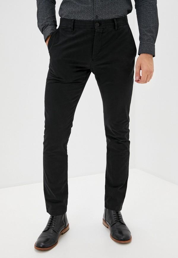 мужские брюки чинос strellson, черные